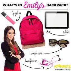 Emily Junk's back to school essentials. Emily Junk, Pitch Perfect 1, Back To School Essentials, Film, Beauty, Fashion, Movie, Moda, Film Stock