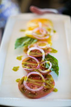 Beautiful food :) Thomas Fogarty Winery || Photo by Carmen Alvarez