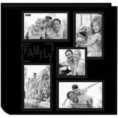 @Overstock - Add a unique accent to your home or office décor with this stylish black photo album. Featuring a sewn leatherette cover and five photo windows on the exterior, this photo album has 48 12-inch pages for all of your family photographs.http://www.overstock.com/Crafts-Sewing/Black-Collage-Frame-Sewn-Embossed-Photo-Album/6087492/product.html?CID=214117 $33.99