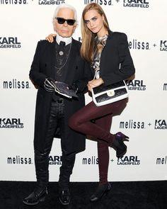 Melissa Shoes   Karl Lagerfeld Collaboration Dinner
