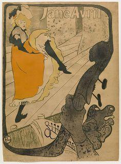 Toulouse-Lautrec's Jane Avril