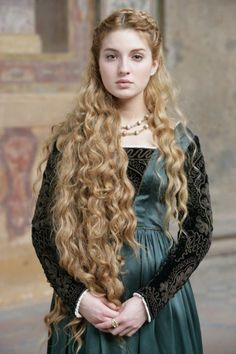 Young Eleanor. She didn't want to marry a barbarian prince, but what choice did she have? Wallace wouldn't stop at anything. Strong in front of her people, but when back at the castle, she would cry and Edward's shoulder and finally decide she couldn't do it, and she would be protecting her people in the long run by refusing his offer.