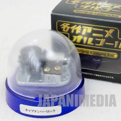 RARE! Space Pirates Captain Herlock Music Box TV Opening Theme Song JAPAN ANIME