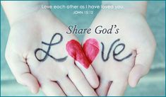 share HIS love