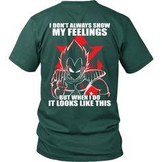 Super Saiyan - Vegeta attitude - Men Short Sleeve T Shirt - TL00980SS