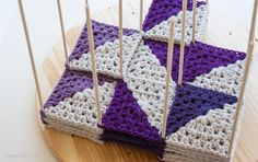 DIY for Wooden crochet blocking station | a blocking station that can be reused over and over again, for a wide variety of sizes and shapes --- www.1dogwoof.com