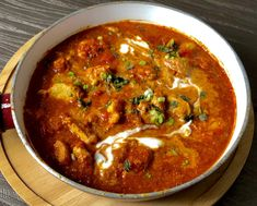 Kurczak Tikka Masala - Blog z apetytem Asian Recipes, Healthy Recipes, Ethnic Recipes, Cookery Books, Tasty Dishes, Food Inspiration, Dinner Recipes, Dinner Ideas, Food And Drink
