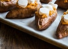 Twice Baked Sweet Potatoes Recipe... Wow! That's different.