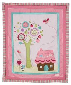 Living Textiles Baby Quilt - Baby Doll- want this for kys room!!!