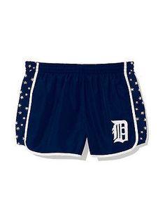 MLB Detroit Tigers Women's Small Victoria's Secret Shorts www.mancavesonline.com