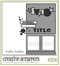 madebymija: Creative Scrappers sketch #200!!!!!!!!