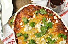 Chorizo Mouth Party Lasagna Rolls