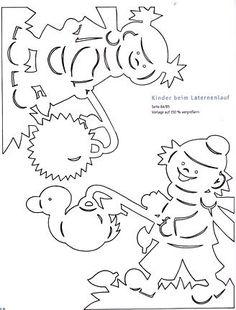 Foto: #herbstdekofensterkinder Foto: Kirigami, Stencils, Love Decorations, Acorn Crafts, Origami And Quilling, Decoupage, Scroll Saw, New Pins, Paper Cutting