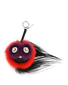 Monster Fur Charm w/Beak, Orange Multi by Fendi at Neiman Marcus. $1050 FP