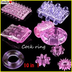 10 Different Penis Rings,Vibrating Rings,Cock Rings,Sex ring,Sex Toy,Sex products,Adult toy 10pcs/lot >>> Check this awesome product by going to the link at the image.
