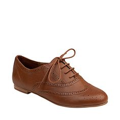 H-Trouser - Women's Leather Oxford Shoes by Steve Madden