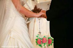 Mexican Wedding Tradition. Lasso Rosary