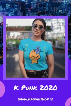 One of our Crop Tops from our New K Punk range over @ kawaiishop.io Come say Hello! Cropped Tank Top, Crop Tee, Range Over, Say Hello, Stretch Fabric, Super Cute, Kawaii, Punk, Tank Tops