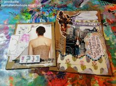 Junk Journaling(with a bunch of my collage sheets https://www.etsy.com/uk/shop/paperclayjunkie?section_id=13018879) http://journalworkshops.ning.com/