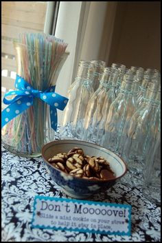 cute milk and cookies baby shower
