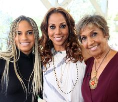 Ryan Elizabeth Peete, actress Holly Robinson Peete and Dolores Robinson visit Hallmark's 'Home & Family' at Universal Studios Hollywood | See Cicely Tyson, June Ambrose, Laverne Cox, and other celebrity pics of the week.