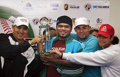 Jugadores de Los Tigres de Aragua Campeones del Caribe del año 2009
