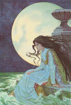 Kunst Inspo, Art Inspo, Art And Illustration, Vintage Illustrations, Fantasy Kunst, Fantasy Art, Images Disney, Art Diy, Fairytale Art