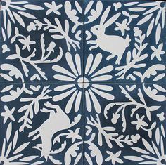 Katie Deedy's new Otomi cement tiles from Grow House Grow (at Design*Sponge)