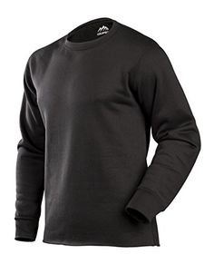 ColdPruf Men's Expedition Single Layer Long Sleeve Base Layer Top, Black, Large -- Be sure to check out this awesome product.