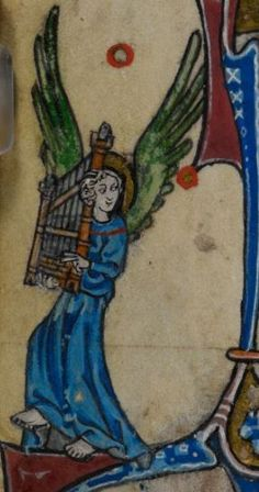 Detail from medieval manuscript, British Library Stowe MS 17 'The Maastricht Hours', f211v