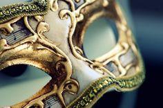 blue & gold masquerade
