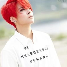 Image result for amber fx red hair