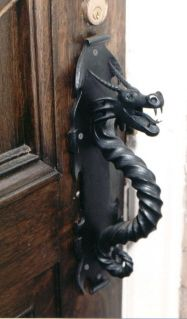 dragon door pull - I would have two of these on my double front doors. & Unique Door Knockers | Celtic dragon Doors and Dragons