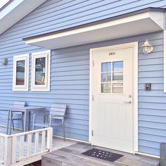 ドア/ホワイトウッドデッキ/ビーチハウス/IKEA/カリフォルニアスタイル/西海岸風…などのインテリア実例 - 2016-03-08 16:18:43   RoomClip(ルームクリップ)