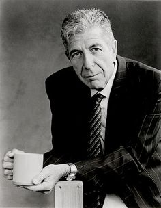 Leonard Cohen writes that he does not consider himself to be a pessimist because a pessimist is waiting for it to rain and he is already soaked to the skin