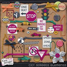 City Streets Elements