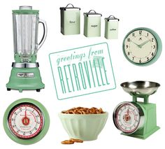 Pink Vintage Kitchen Accessories by Homegirl London Links here