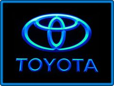 Toyota Car Display Neon Light Sign