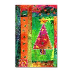 Elizabeth Claire 'Colorful Tree' Canvas Art