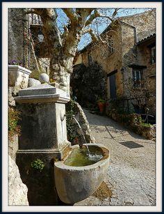 Fontaine de la Placette, Tourtour ~ Alsace