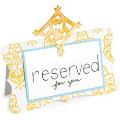 Sizzix Bigz Die-Place Card With Decorative Accent - Overstock™ Shopping - Big Discounts on Sizzix Cutting & Embossing Dies