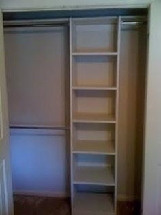 find this pin and more on coat closet organization - Small Closet Design Ideas