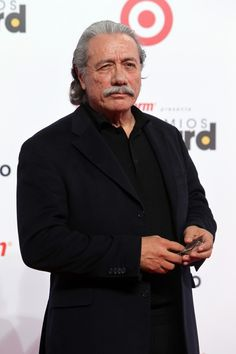 Actor Edward James Olmos arrives at the Latin Billboard Awards in Coral Gables, Fla. Thursday, April 25, 2013. (Photo by Carlo Allegri/Invision/AP)