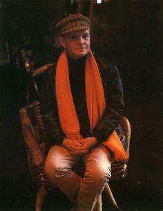 Tan inofensivo Truman Capote - Foto de Marie Cosindas