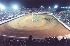 Costa Mesa Speedway - Orange County Fairgrounds - Vintage Costa Mesa Speedway Speedway Motorcycles, Speedway Racing, County Fairgrounds, Orange County California, Bike Stuff, Bike Life, Motocross, Attraction, Nostalgia
