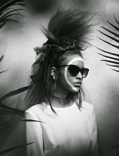 """Jungle Fever"" Vickie Sorensen by Dima Hohlov for Io Donna April 2014"