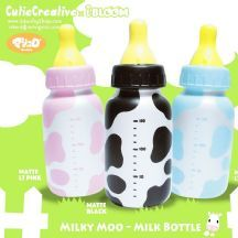 *CutieCreative x Ibloom* Super Slow Rising Milky Moo Milk Bottle Squishy