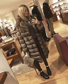 Sable Coat, Self Styled, Fur Fashion, Mantel, Blond, Woman, Sexy Women, Jackets, Fur Coats