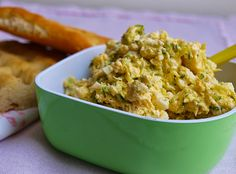 Notburga konyhája: Cukkinis-tojáskrém/Zucchini-Eieraufstrich