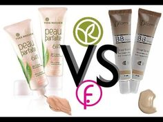 BB cream Yves rocher VS BB cream Flormar